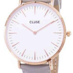 Cluse 라 보엠 CL18015 석 영 아날로그 여자 시계