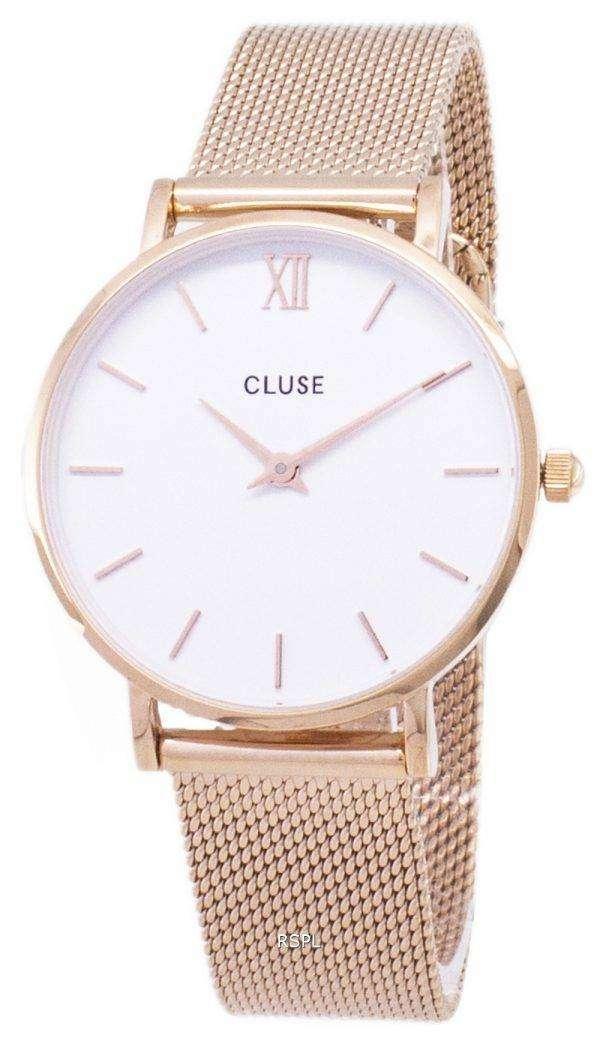Cluse Minuit CL30013 석 영 아날로그 여자 시계