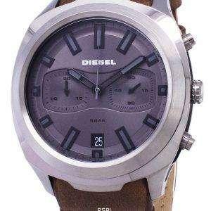 디젤 텀블러 DZ4491 크로 노 그래프 석 영 아날로그 남자의 시계