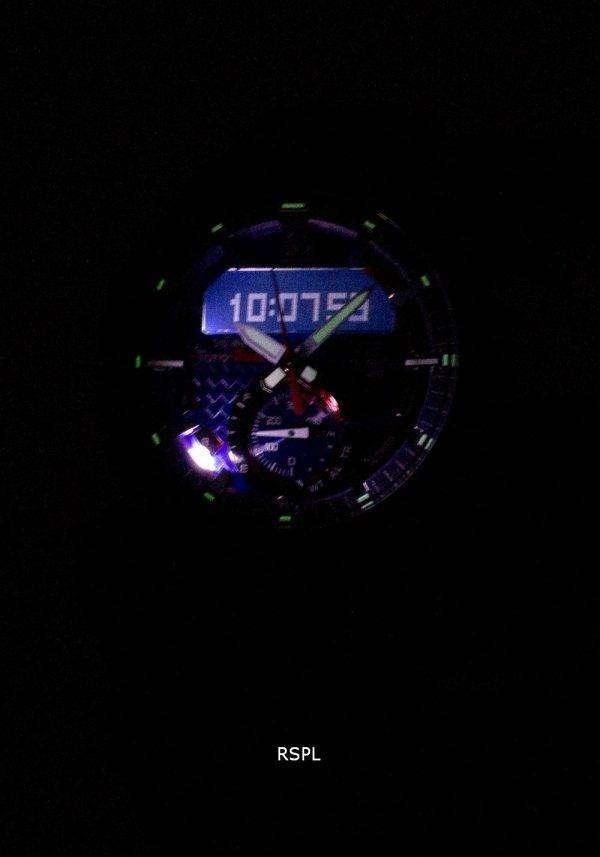 건반 건물 ECB-800TR-2A 토로 소 제한 판 크로 노 그래프 남성 시계
