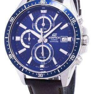 건반 건물 EFR-S565L-2AV EFRS565L-2AV 크로 노 그래프 아날로그 남자 시계