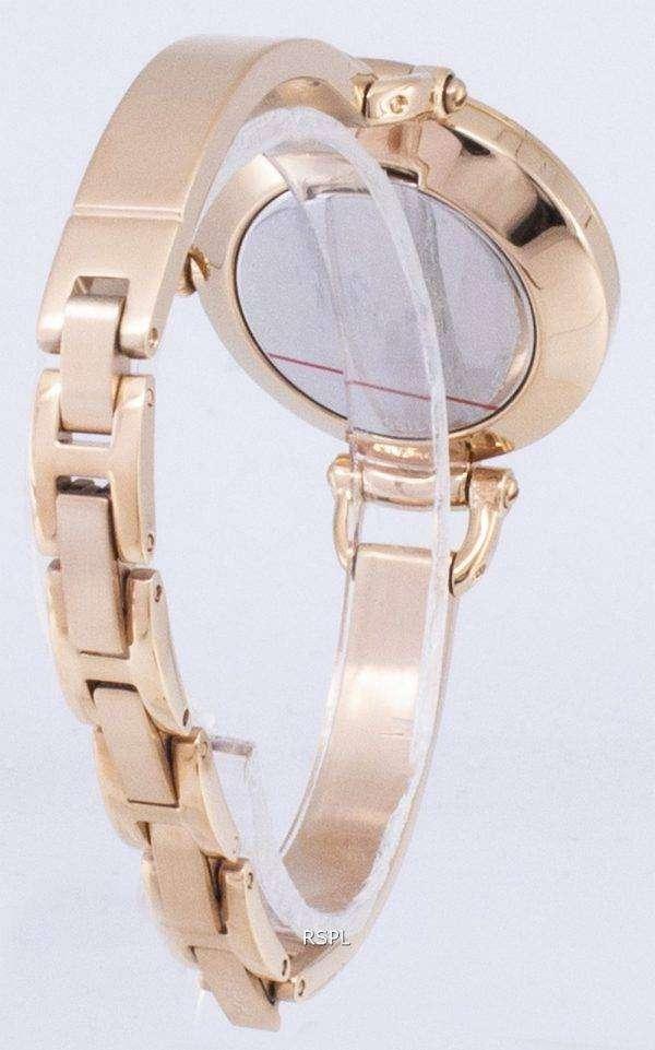 화석 조지아 Glitz 팔찌 크리스탈 ES3226 여자의 시계