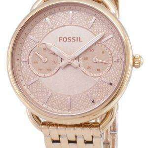 화석 재단사 다기능 석 영 ES3713 여자의 시계