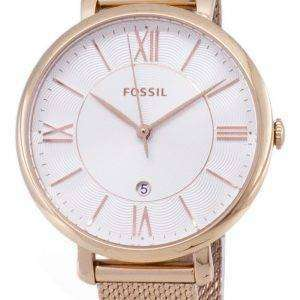 화석 재클린 ES4352 아날로그 석 영 여자의 시계