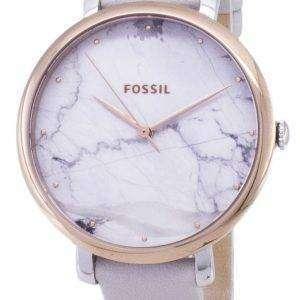 화석 재클린 ES4377 석 영 아날로그 여자의 시계
