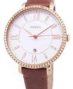 화석 재클린 ES4413 석 영 아날로그 여자의 시계
