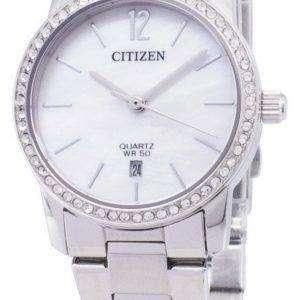 시민 EU6030-81 D 석 영 아날로그 여자의 시계