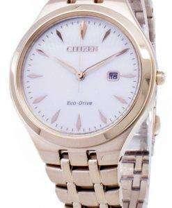 시민 에코 드라이브 EW2493-81B 아날로그 여자의 시계