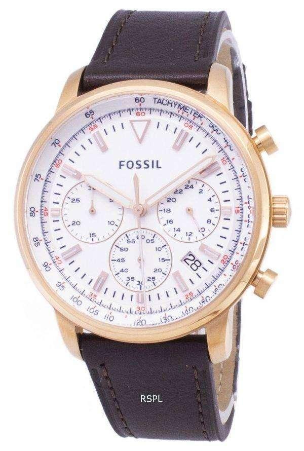 화석 FS5415 크로 노 그래프 석 영 아날로그 남자 시계