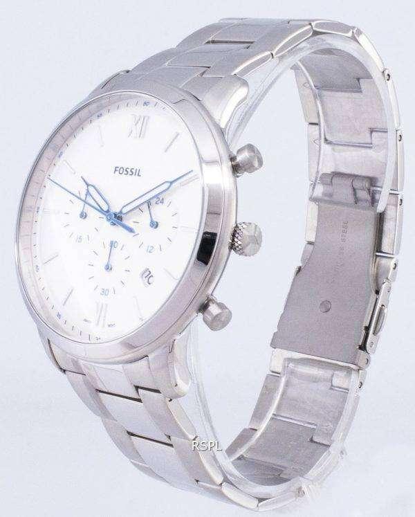 화석 Neutra 크로 노 그래프 석 영 FS5433 남자의 시계