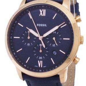 화석 Neutra 크로 노 그래프 석 영 FS5454 남자의 시계