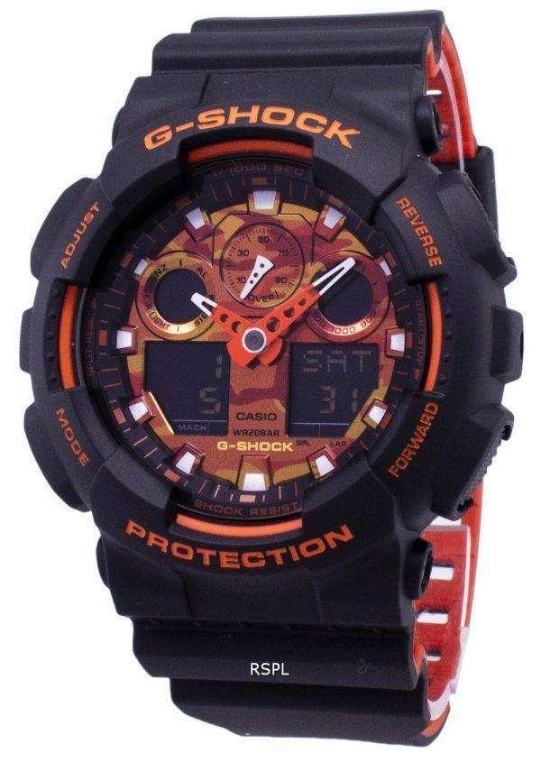 건반 g 조-충격이-100BR-1A GA100BR-1A 아날로그 디지털 200 M 남자의 시계