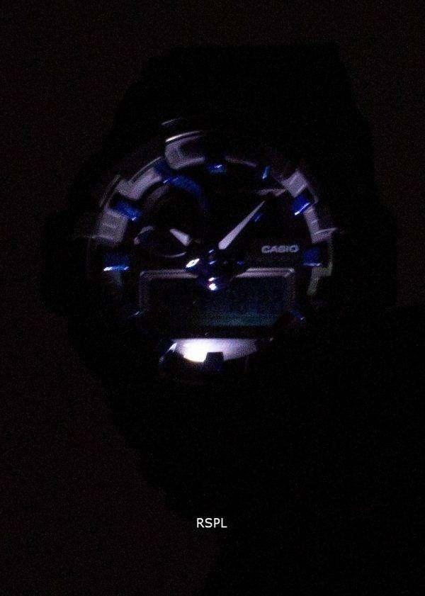 건반 g 조 충격 조지아 710B 1A2 조명 아날로그 디지털 200 M 남자의 시계