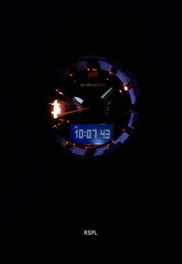 건반 g 조-충격 GA-800BR-1A GA800BR-1A 조명 아날로그 디지털 200 M 남자의 시계