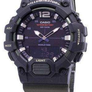 카시오 청소년 HDC-700-3AV 조명 석 영 아날로그 디지털 남자의 시계