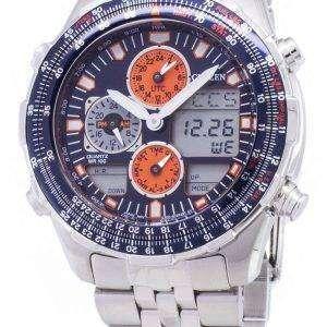 시민 Navihawk 파일럿 JN0121-82 L 크로 노 그래프 남성 시계