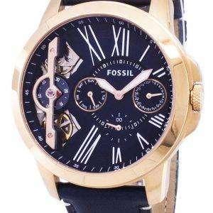 화석 크로 노 그래프 ME1162 석 영 아날로그 남자 시계