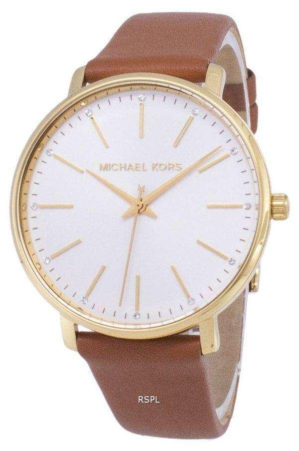 마이클 Kors Pyper MK2740 석 영 아날로그 여자의 시계