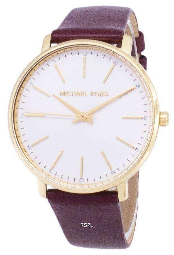 마이클 Kors Pyper MK2749 석 영 아날로그 여자의 시계