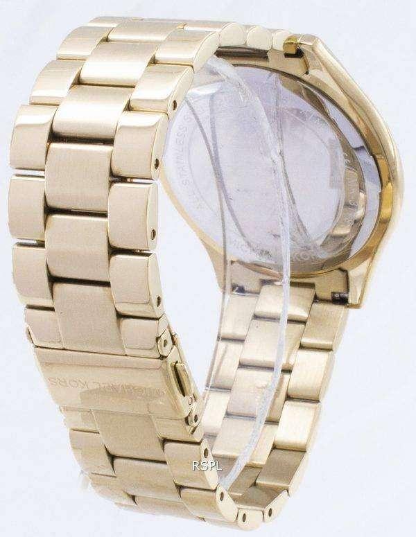 Michael Kors 활주로 샴페인 다이얼 MK3179 여자 시계