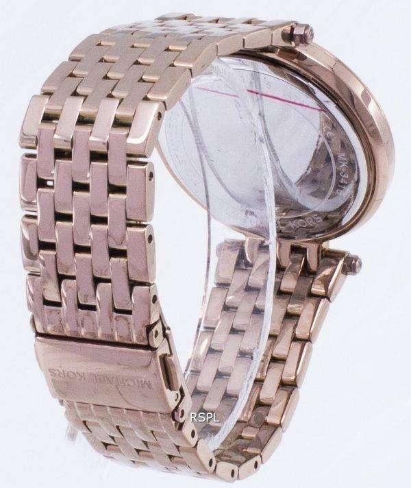 마이클 Kors Darci 포장 석 영 MK3416 여자의 시계
