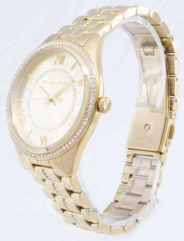 마이클 Kors 로린 포장 석 영 MK3719 여자의 시계