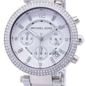 마이클 코어스 파커 크리스탈 크로노 그래프 MK5353 여성 시계