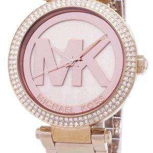 마이클 코어스 파커 크리스탈 MK5865 여성 시계