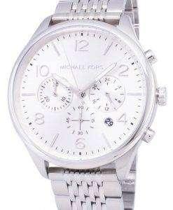 마이클 Kors 여사 MK8637 크로 노 그래프 쿼 츠 남성용 시계