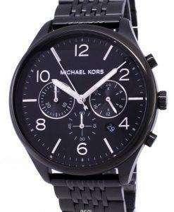 마이클 Kors 여사 MK8640 크로 노 그래프 쿼 츠 남성용 시계