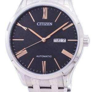 시민 기계 NH8360-80J 자동 아날로그 남자의 시계