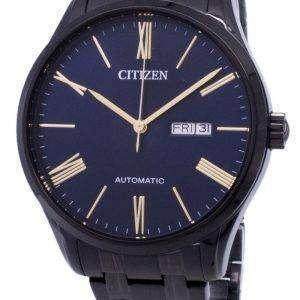시민 자동 NH8365-86 M 아날로그 남자의 시계