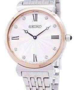 세이 코 쿼 츠 SFQ798 SFQ798P1 SFQ798P 다이아몬드 악센트 여자의 시계