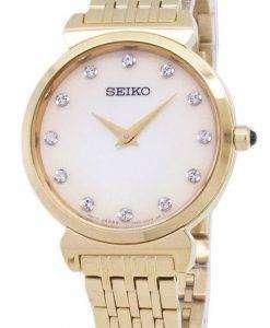 세이 코 쿼 츠 SFQ802 SFQ802P1 SFQ802P 다이아몬드 악센트 여자의 시계