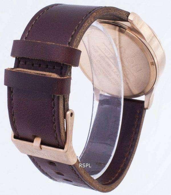 닉슨 센 A105-2867-00 아날로그 쿼 츠 남성용 시계