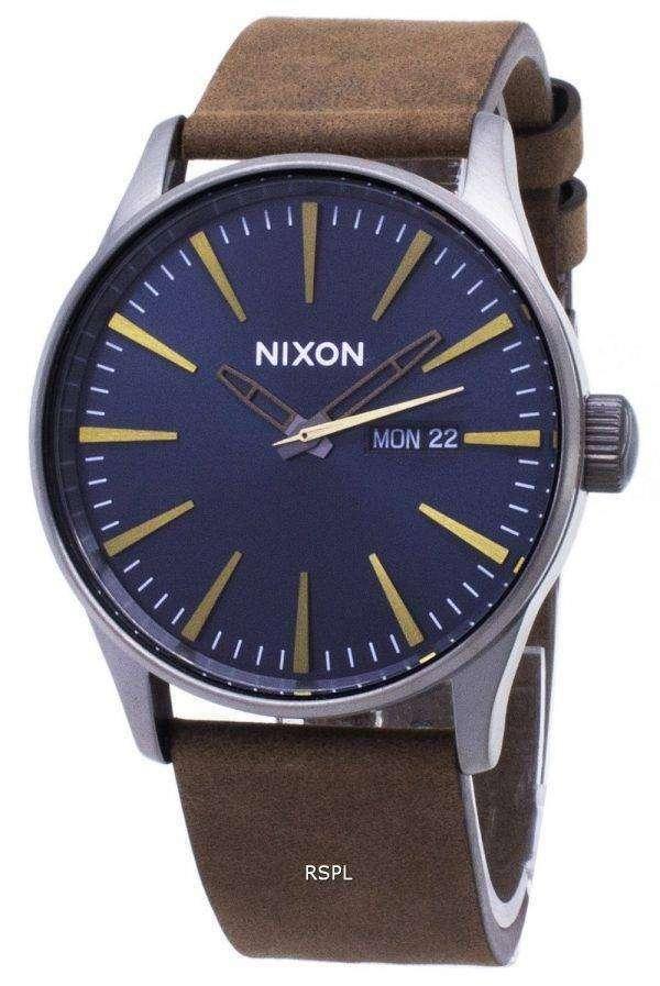 닉슨 센 A105-2984-00 아날로그 쿼 츠 남성용 시계