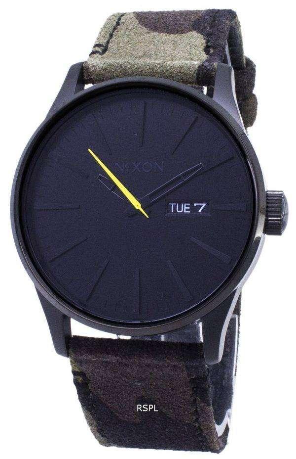 닉슨 센 A105-3054-00 아날로그 쿼 츠 남성용 시계