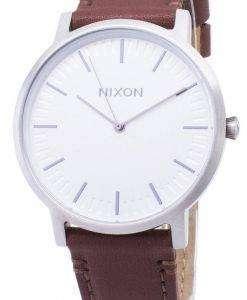닉슨 포터 A1058-1113-00 아날로그 쿼 츠 남성용 시계