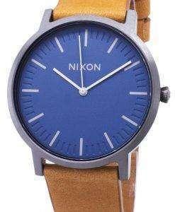 닉슨 포터 A1058-2854-00 아날로그 쿼 츠 남성용 시계