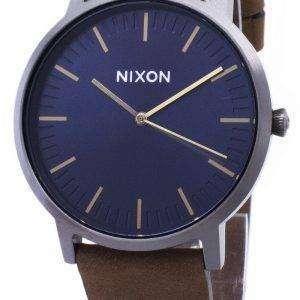 닉슨 포터 A1058-2984-00 아날로그 쿼 츠 남성용 시계