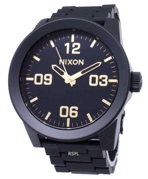 닉슨 상병 SS A346-1041-00 아날로그 쿼 츠 남성용 시계