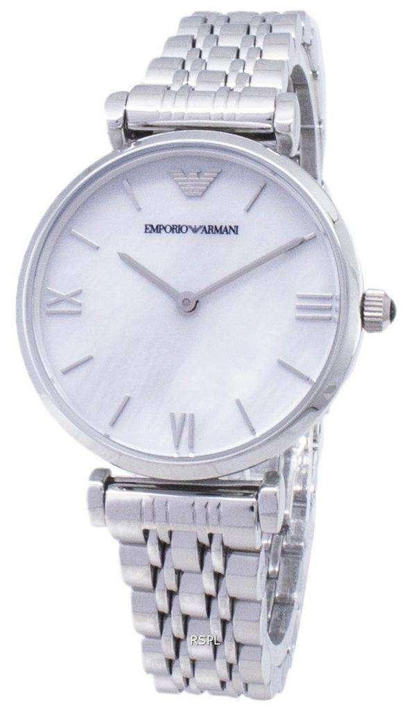 엠포리오 아르마니 클래식 석 영 AR1682 여자의 시계