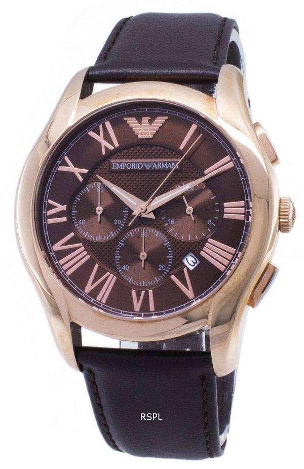 엠포리오 아르마니 클래식 레트로 크로 노 그래프 석 영 AR1701 남자의 시계