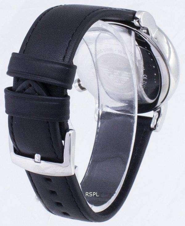 엠포리오 아르마니 크로 노 그래프 석 영 AR1733 남자의 시계