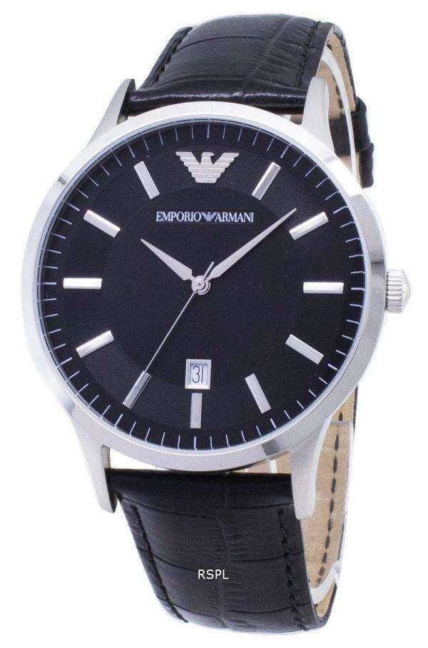 엠포리오 아르마니 클래식 쿼 츠 AR2411 남자의 시계