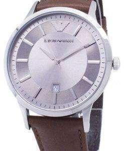 엠포리오 아르마니 클래식 석 영 AR2463 남자의 시계