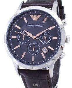 엠포리오 아르마니 레나토 크로 노 그래프 석 영 AR2513 남자의 시계