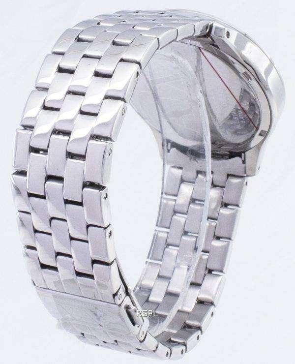 아르마니 익스체인지 레이디 햄튼 실버 크리스탈 누비 다이얼 AX5215 여자의 시계