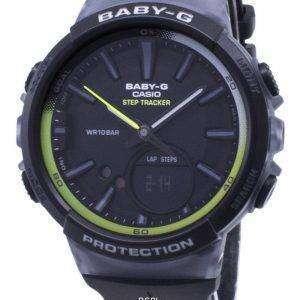 건반 베이비-G BGS-100-1A BGS100-1A 단계 추적기 아날로그 디지털 여자의 시계
