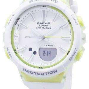 건반 베이비-G BGS-100-7A2 BGS100-7A2 단계 추적기 아날로그 디지털 여자의 시계